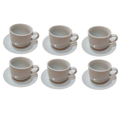 سرویس قهوه خوری 6 پارچه مدل یاس