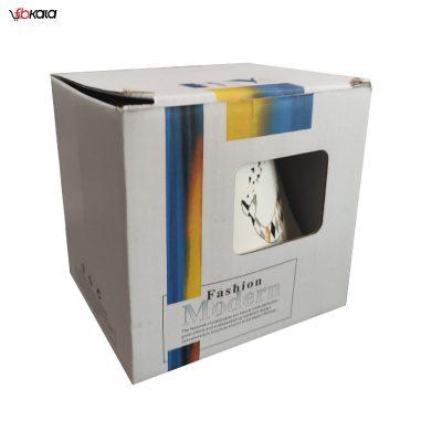 ماگ سرامیکی فشن مدل Gazelle سفید کد 1028-3