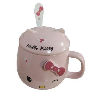 ماگ فشن مدرن مدل Hello Kitty کد 1031