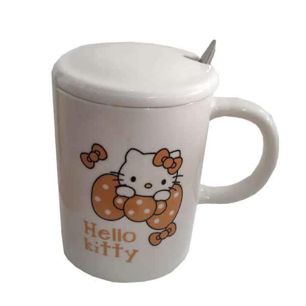 ماگ فانتزی بچگانه طرح Hello kitty کد 1042