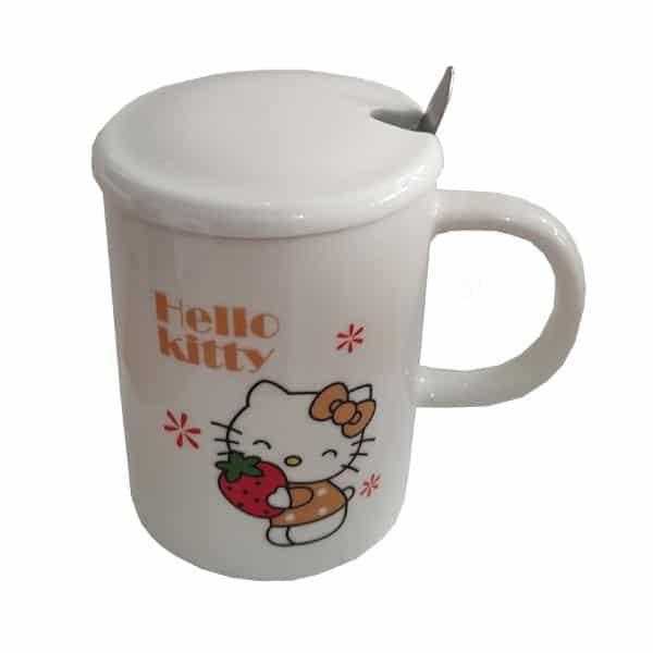 ماگ فانتزی بچگانه طرح Hello kitty کد 1043