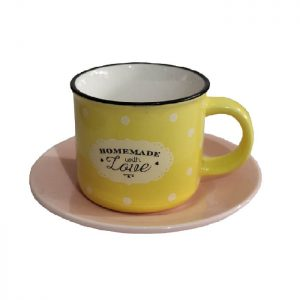 سرویس قهوه خوری 12 پارچه مدل LOVE
