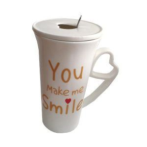 ماگ زیبا با طراحی خاص مدل Smile کد 1040