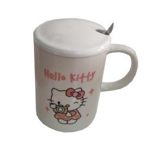 ماگ فانتزی بچگانه طرح Hello kitty کد 1041